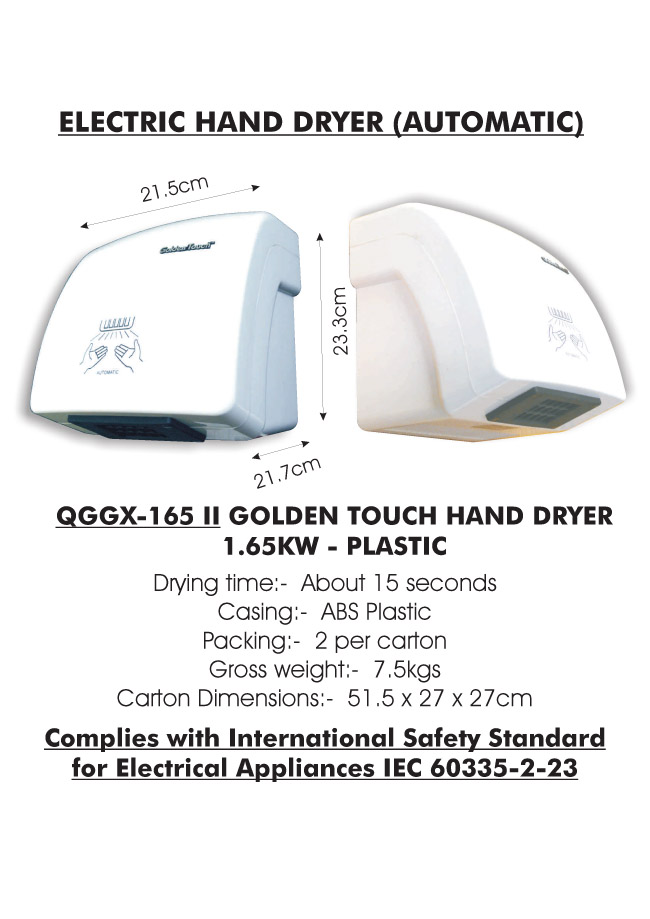 HAND DRYERS UNBRANDED CMS.cdr